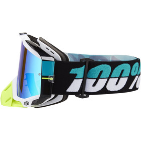 100% Racecraft Anti Fog Mirror Goggles st barth